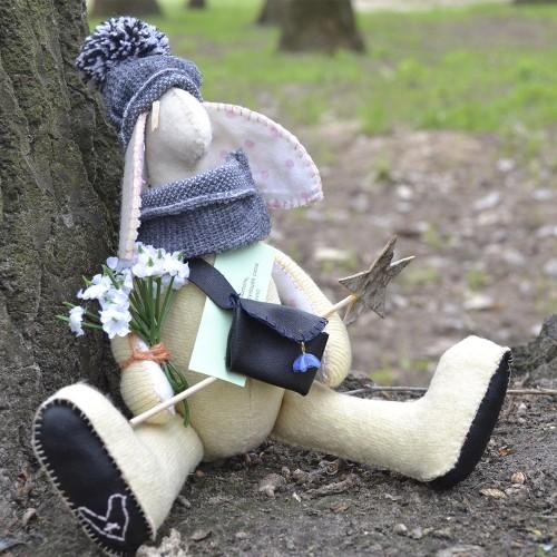 "Кукла - оберег ручной работы ""Заяц"""